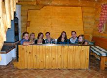 Die Tischwanne im Saunahaus